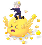 APH: BEHOLD my awesome gilbird army!