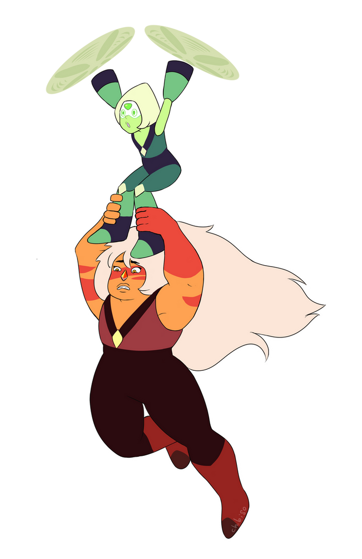 here it is with only peridot and jasper because i couldnt choose which one was funnier, and because i can