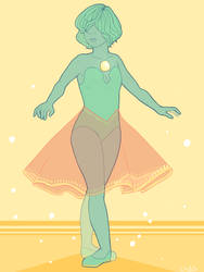 Blue Diamond's Pearl by ChibiSo