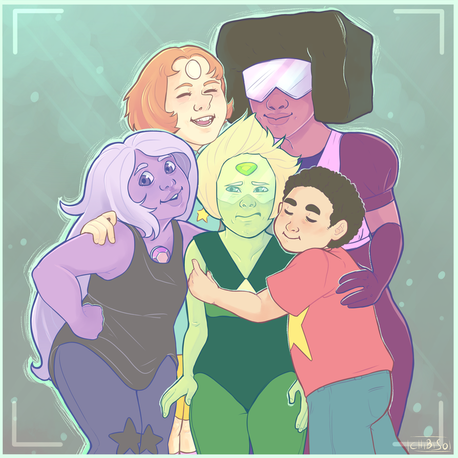 You're a Crystal Gem by ChibiSo