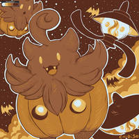 Pumpkaboo | Colour Palette- Pumpkaboo by ChibiSo