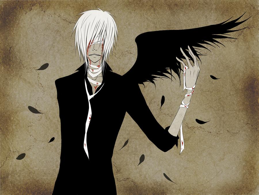 Fallen angel by Naimane