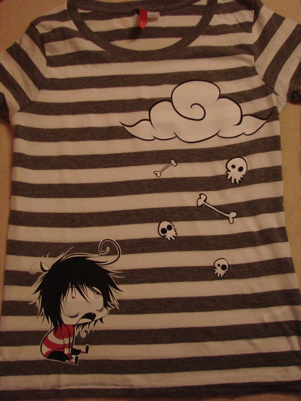 T-shirt by Naimane