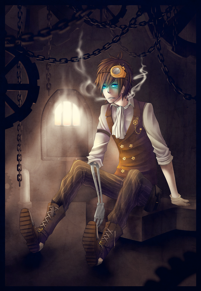 Kingdom Hearts: Reflections Steampunk_by_naimane-d52a6u7