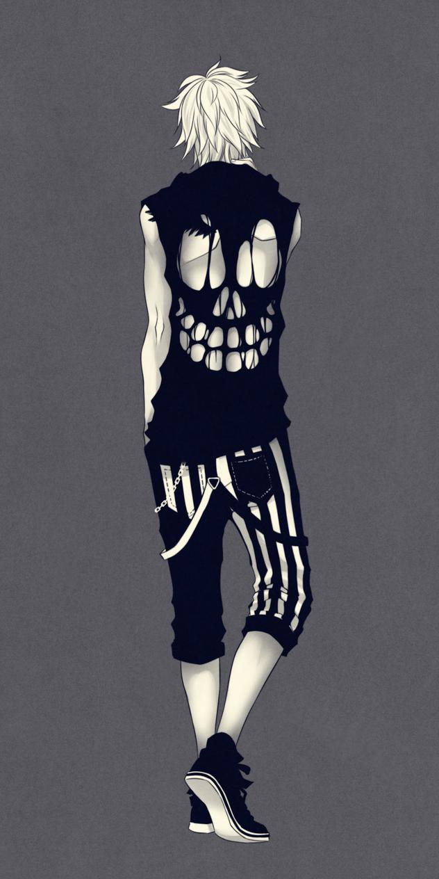 Skull shirt by Naimane