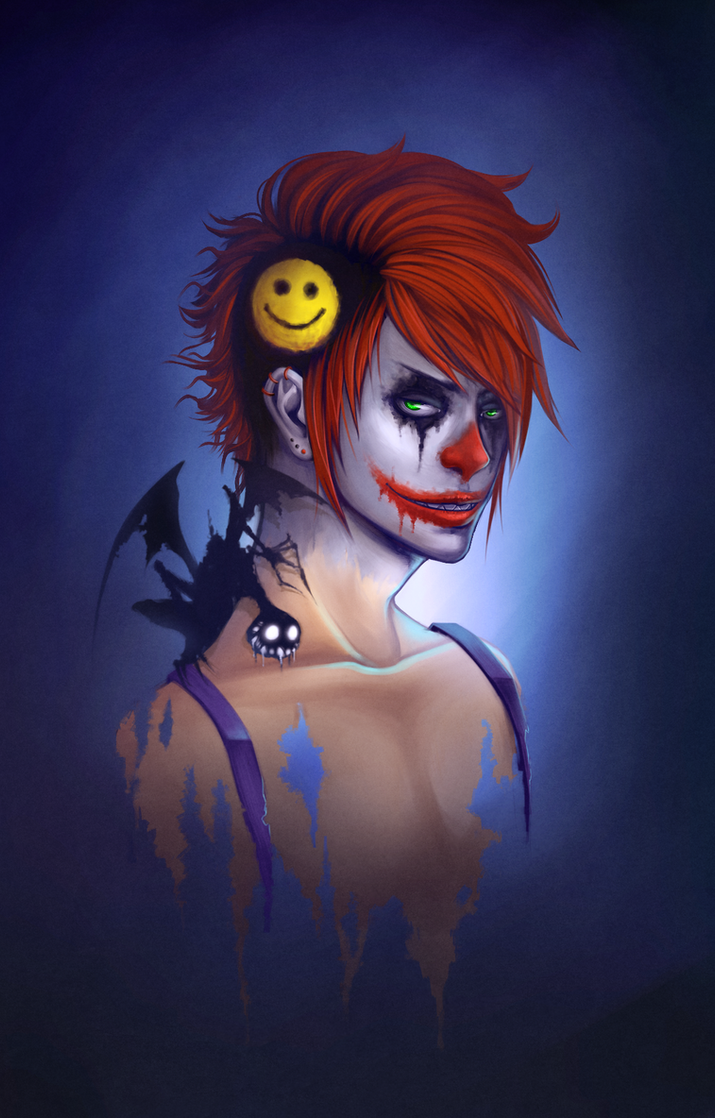 Smile paint by Naimane