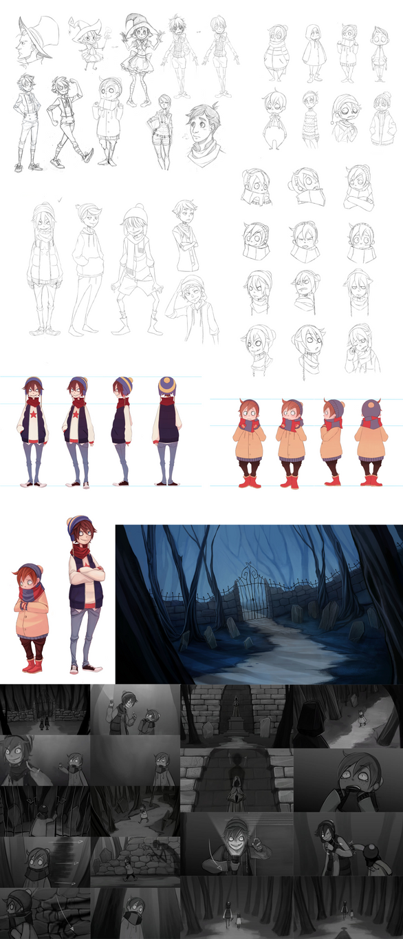 Animation project stuff by Naimane