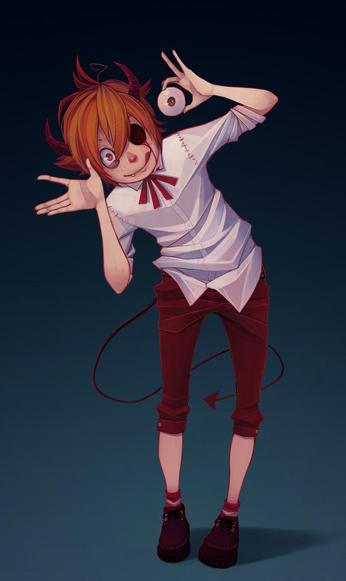 Demon kid by Naimane