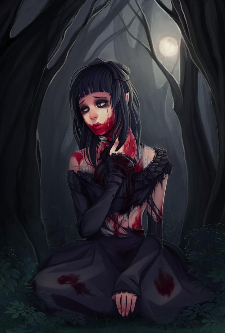 lolita werewolf by Naimane