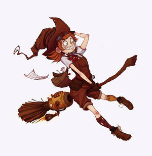 Steampunk witch