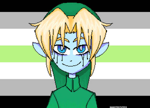 BEN Drowned Pride Icon - Agender