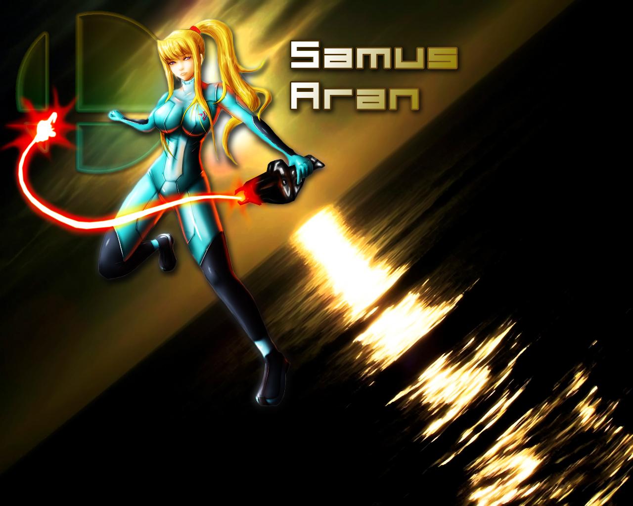 samus aran wallpaper by paranoia290 on deviantart