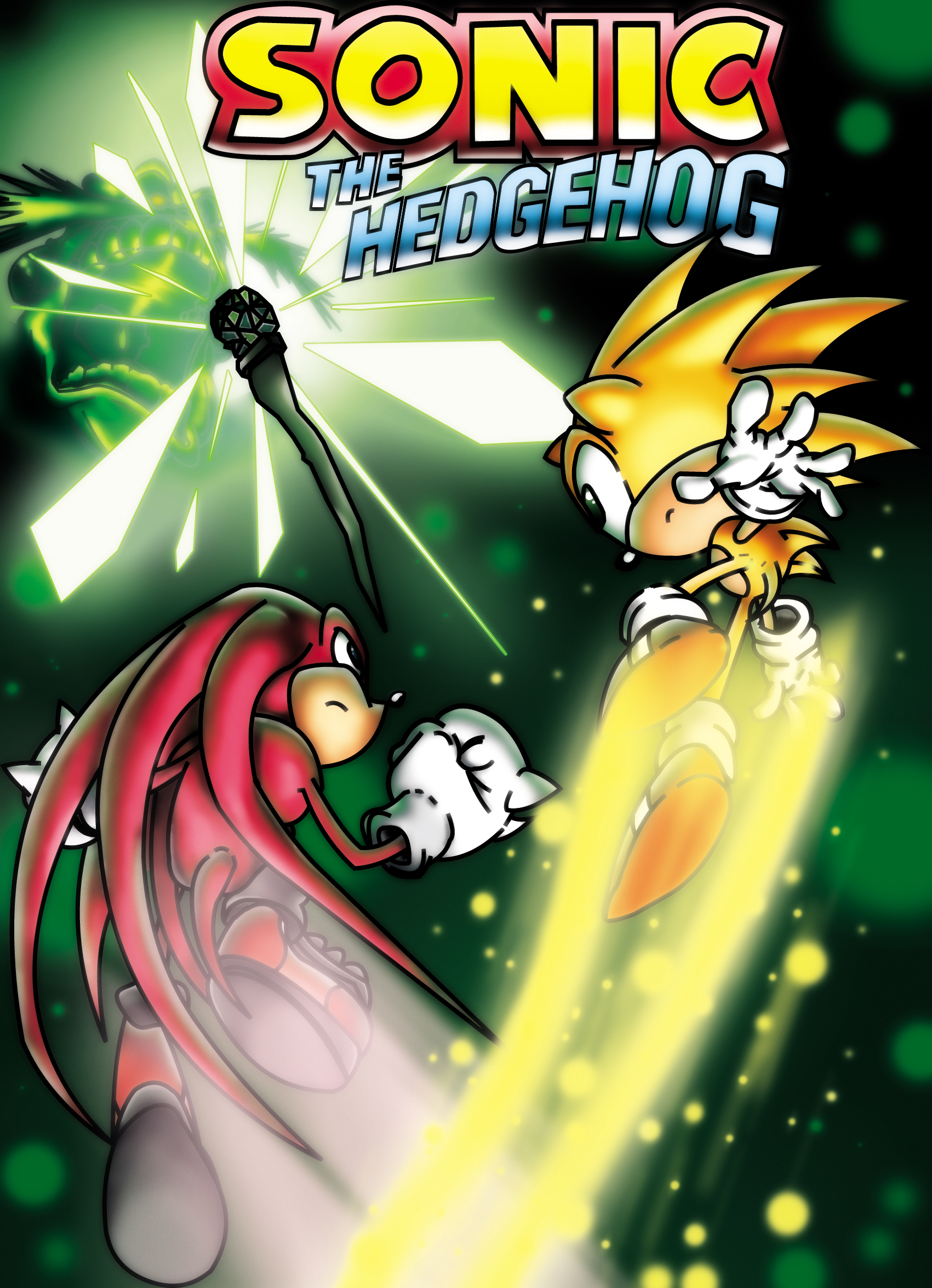 Sonic and Knuckles by PARANOiA290