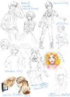 Sketchdump by Dhirento
