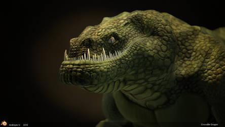 Crocodile-Dragon by sid350