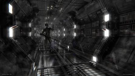 Space Corridor by sid350