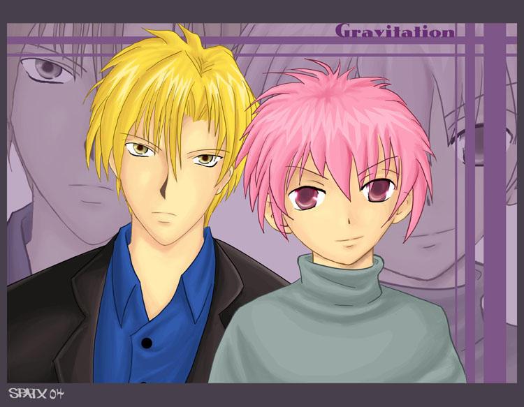 Gravitation - Yuki and Shuichi by insomniacvampire