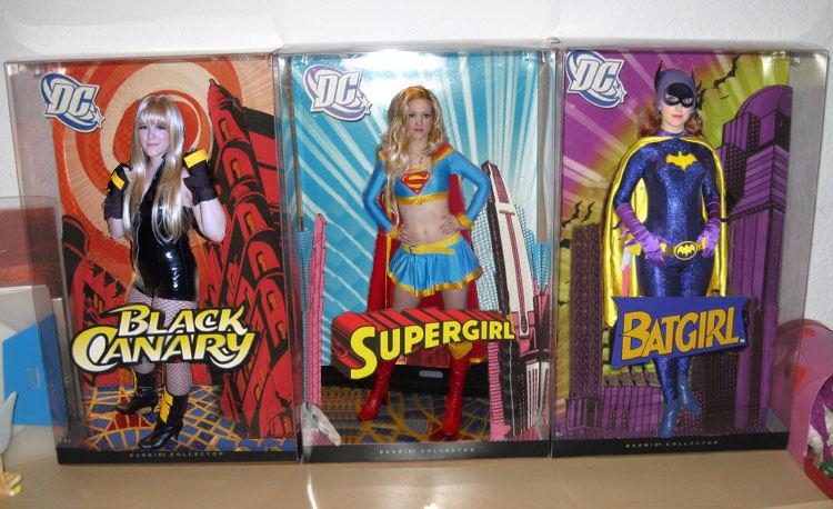 Superheroine 3 pack by sintruder