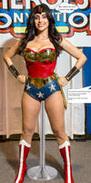 Wonder Woman on display