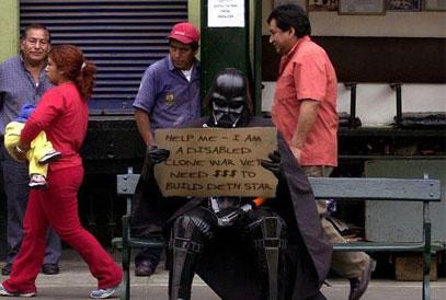 Vader hobo by Fullmetalpyro110