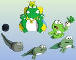 King Wart Evolution