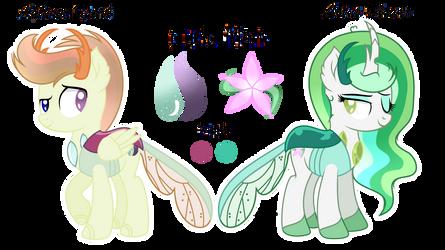 MLP [Next Gen]-Lotus Flower and Autumn Spark by StarGlaxy