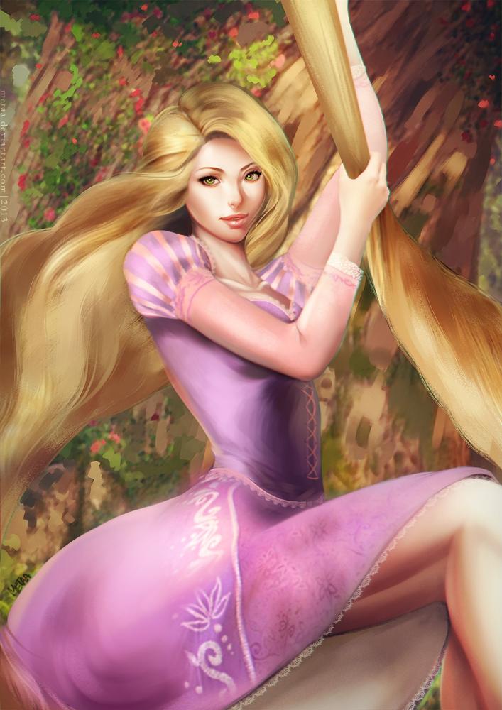 Rapunzel by MeTaa