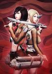 Mikasa vs. Annie