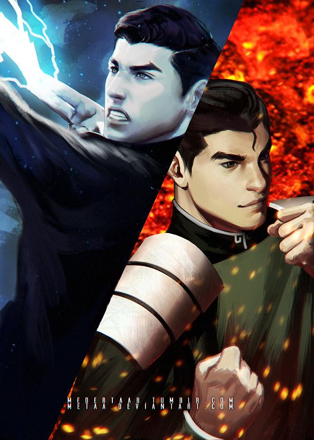 Mako and Bolin - The Legend Of Korra  Balance by MeTaaKorra And Bolin Fan Art