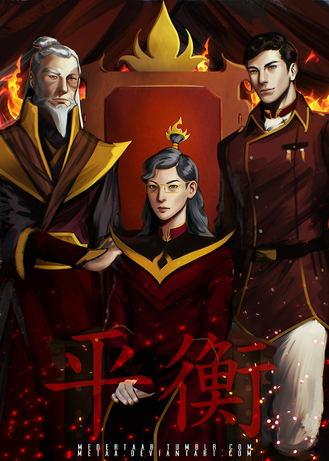 Fire Lords - Legend Of Korra: Balance by MeTaa