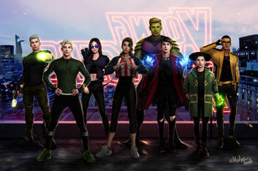 YOUNG AVENGERS by MeTaa