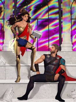 WORTHY (Wonder Woman and Thor)