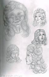Christine Sketches by SlightlyDraconic
