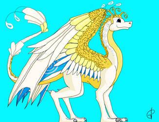 Dragon!Christine by SlightlyDraconic