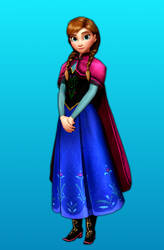 Frozen Free Fall Icy Shot: Default Anna by FlyingSpirits-P
