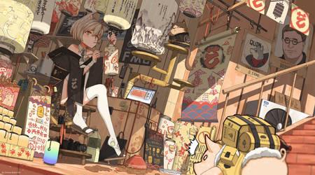 The lantern shop by ChineseRobortKID