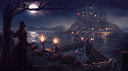 NIGHT by yamiooo