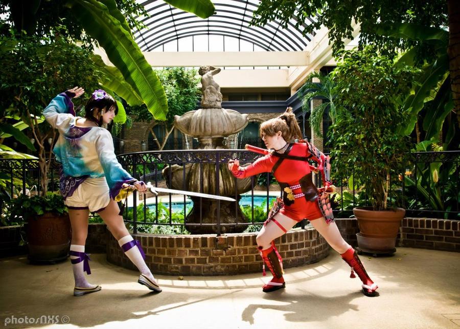Xianghua vs Natsu 2 by PinkJusticeCosplay