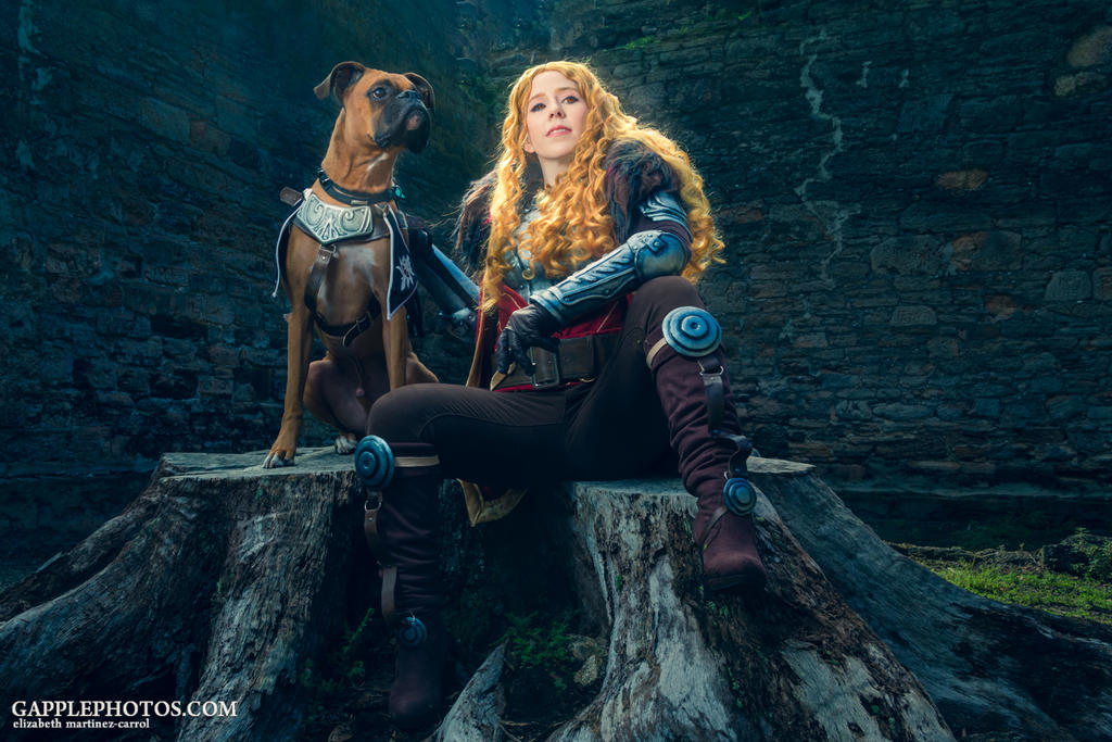 Cullen and Barkspawn by PinkJusticeCosplay