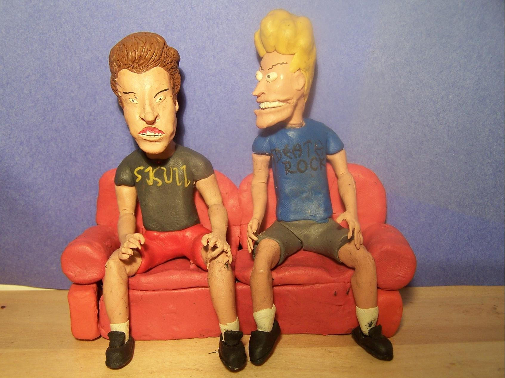 Beavis and Butthead by hatredtheblack