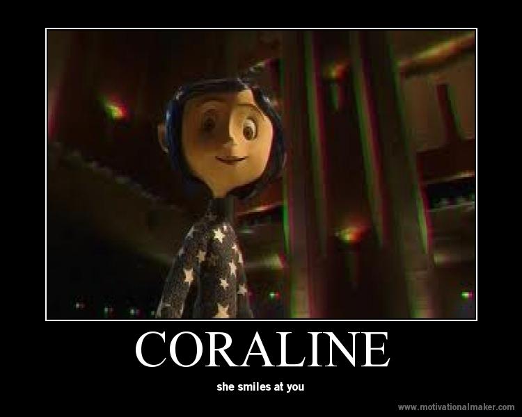Coraline Smiles By Freddylover13 On Deviantart