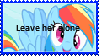 quit hating Rainbow Dash by Freddylover13