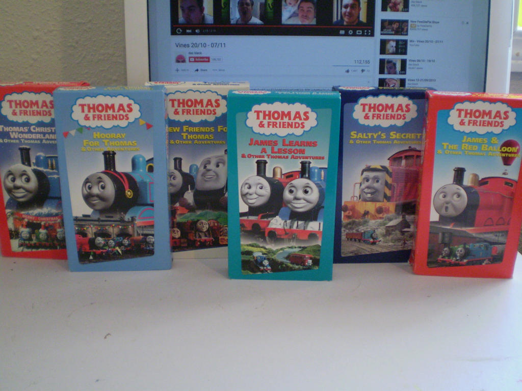 Thomas Christmas Wonderland Vhs.New Thomas Vhs Tapes To The Collection By Chillmon On Deviantart