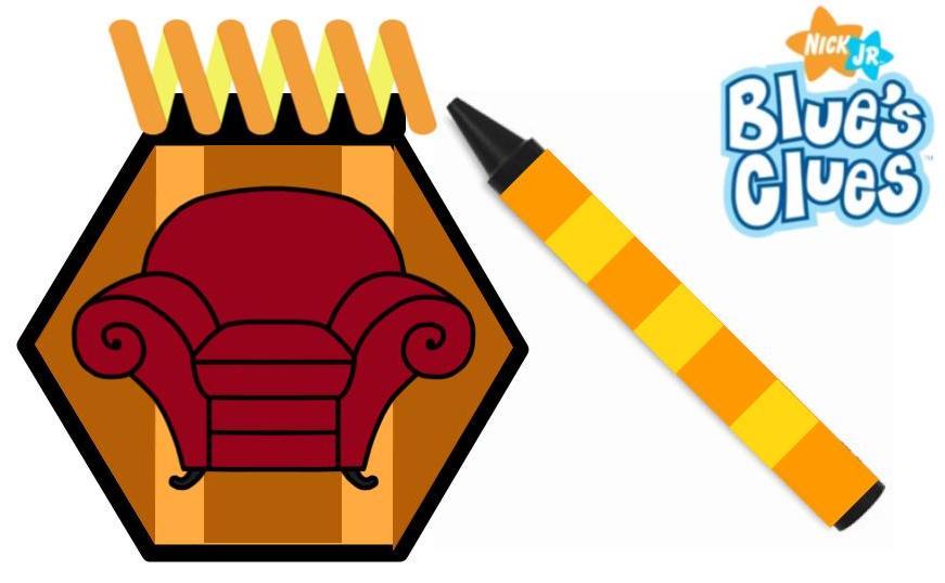 blues clues handy dandy notebook reboot design by chillmon - Blue Clues