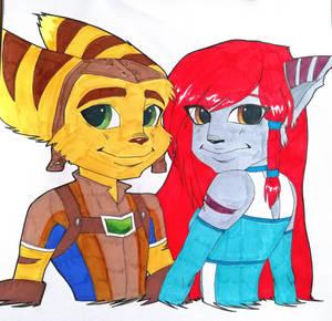 Ratchet and Amanda