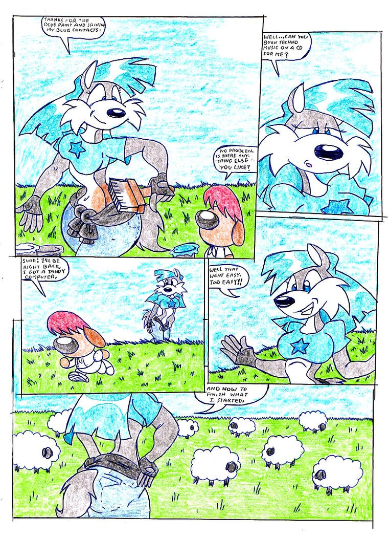 WeNdY wOlF cOmIc. PaGe 43. by Virus-20