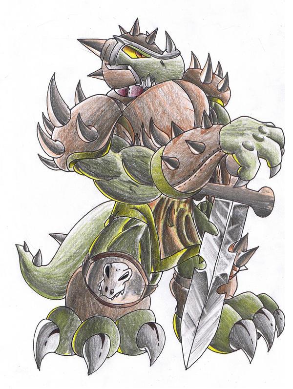 Dino Warrior. by Virus-20