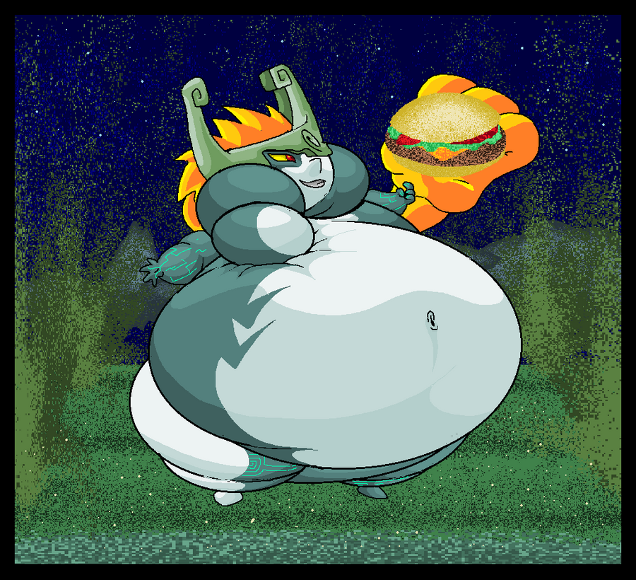 Fat Midna. by Virus-20 on DeviantArt