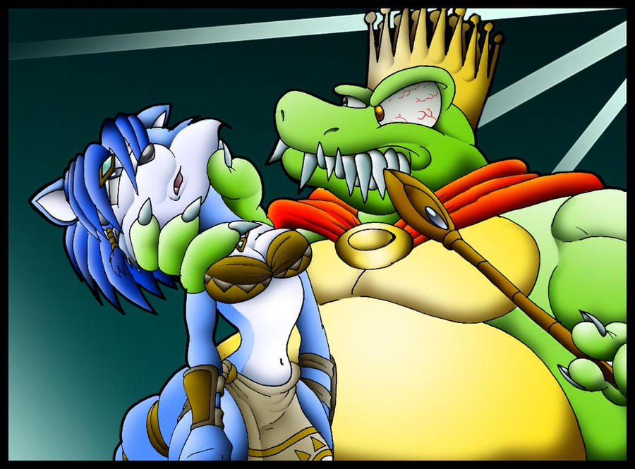 Krystal another tail krystal vs king k rool by virus 20 on deviantart