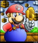 Mario Found A Gold Coin.